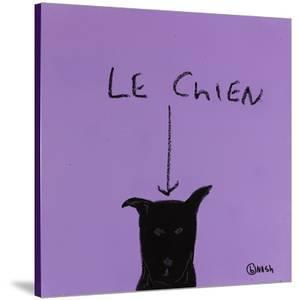 Le Chien by Brian Nash