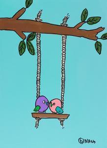 Love Birds by Brian Nash