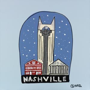 Nashville Snow Globe by Brian Nash