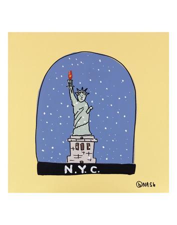 NYC Snow Globe