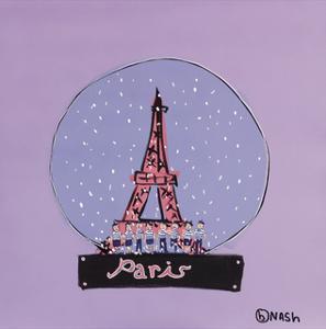 Paris Snow Globe by Brian Nash