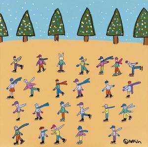 Skaters by Brian Nash
