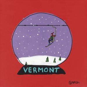 Vermont Snow Globe by Brian Nash