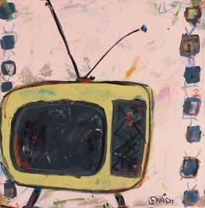 Yellow TV by Brian Nash