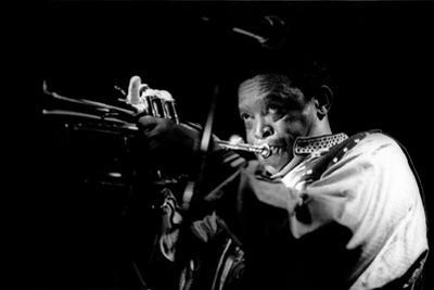 Hugh Masekela, Ronnie Scotts, London, 1994 by Brian O'Connor