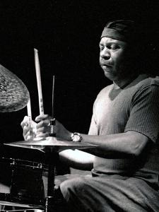 Lenny White, Ronnie Scotts, London, 2002 by Brian O'Connor