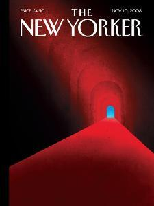 The New Yorker Cover - November 10, 2008 by Brian Stauffer
