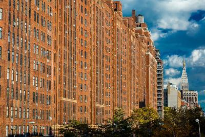 Brick Apartment Buildings New York City--Photographic Print