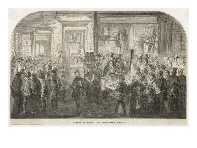 Brick Lane Market 1861--Giclee Print