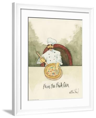 Brick Oven-Alan Paul-Framed Art Print