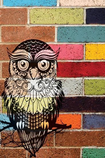 Brick Owl-Piper Ballantyne-Art Print