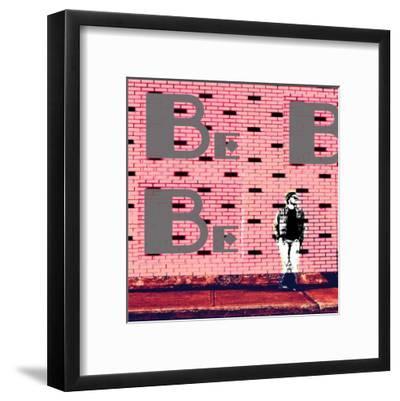 Brickchill: Pink-Pascal Normand-Framed Art Print