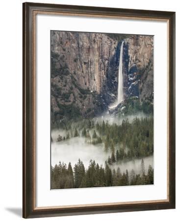 Bridal Falls, Yosemite, California, USA-Tom Norring-Framed Photographic Print
