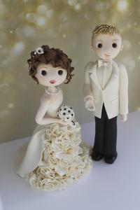 Bride and Groom Winter 2014 Bokeh