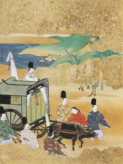 Bride Arriving in Carriage to Betrothed's House--Giclee Print