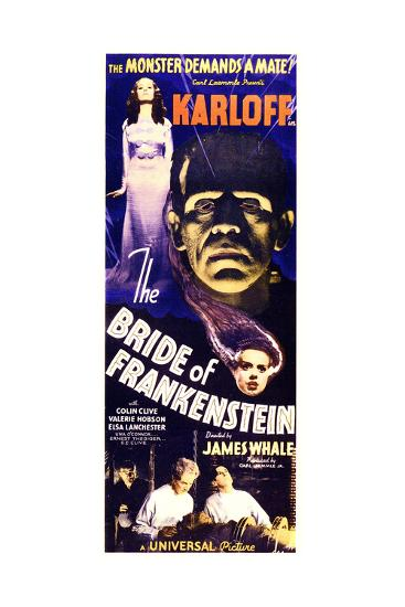Bride of Frankenstein--Art Print