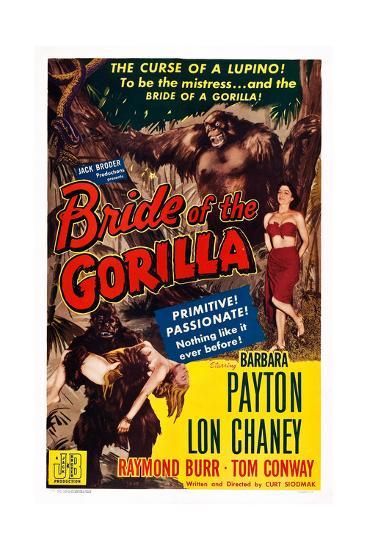 Bride of the Gorilla--Giclee Print