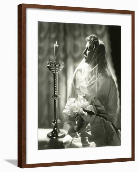 Bride to Be--Framed Photo