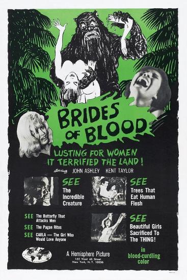 Brides of Blood, 1968--Art Print