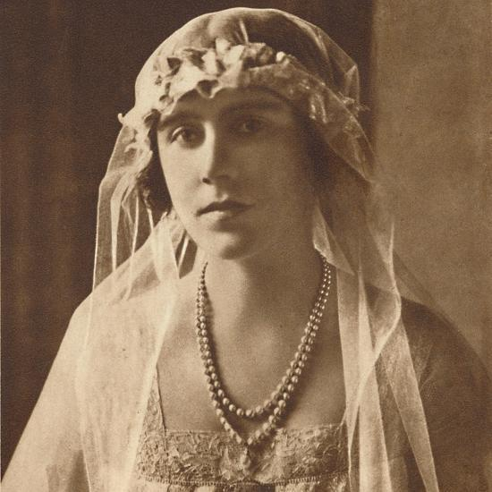 'Bridesmaid at wedding of Princess Mary and Viscount Lascelles, 1922', (1937.)-Unknown-Photographic Print