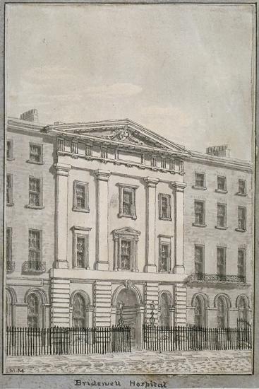 Bridewell, City of London, 1820--Giclee Print