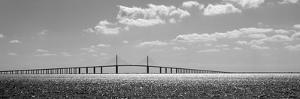 Bridge across a Bay, Sunshine Skyway Bridge, Tampa Bay, Florida, USA