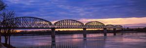 Bridge across a River, Big Four Bridge, Louisville, Kentucky, USA