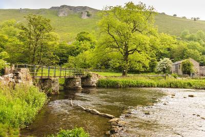 Bridge across River Wye, Stone Farm Buildings, Monsal Dale-Eleanor Scriven-Photographic Print