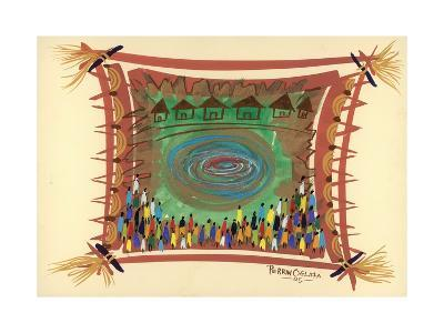 Bridge across Time, 2005-Oglafa Ebitari Perrin-Giclee Print