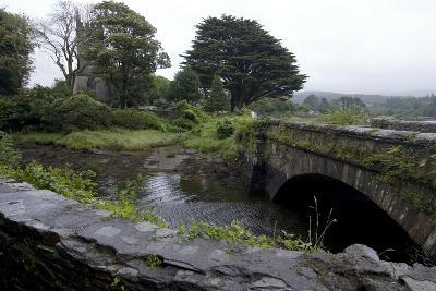 Bridge and Church Near the Sea, Near Schull, County Cork, Ireland-Natalie Tepper-Photo