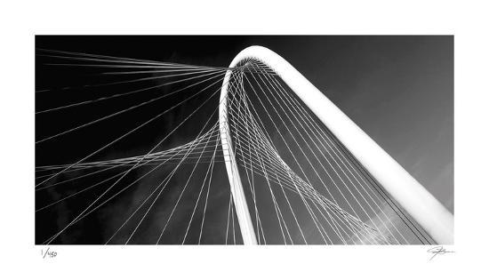 Bridge Arch and Cables-Ken Bremer-Limited Edition