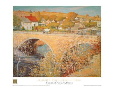 Bridge At Ipswich-Theodore M^ Wendel-Art Print