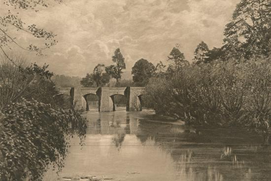 'Bridge at Limplet Stoke on the Lower Avon', 1902-Unknown-Photographic Print