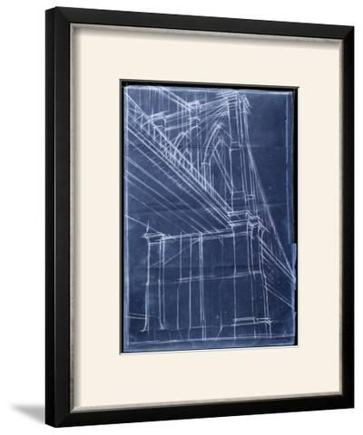 Bridge Blueprint II-Ethan Harper-Framed Photographic Print