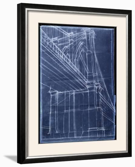Bridge Blueprint II-Ethan Harper-Framed Photographic Print