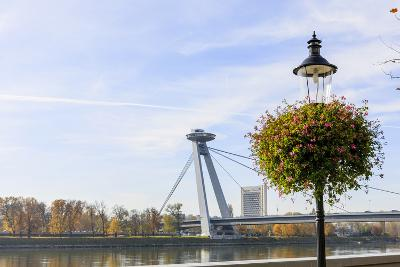 Bridge. Bratislava. Slovakia-Tom Norring-Photographic Print