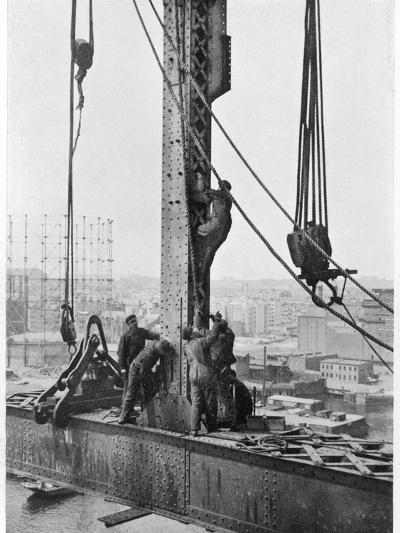 Bridge Building America--Photographic Print
