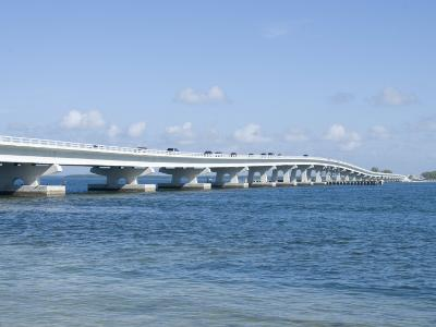 Bridge Connecting Sanibel Island to Mainland, Gulf Coast, Florida, United States of America, North -Robert Harding-Photographic Print