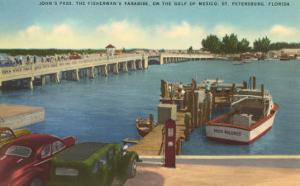 Bridge, Dock, St. Petersburg, Florida
