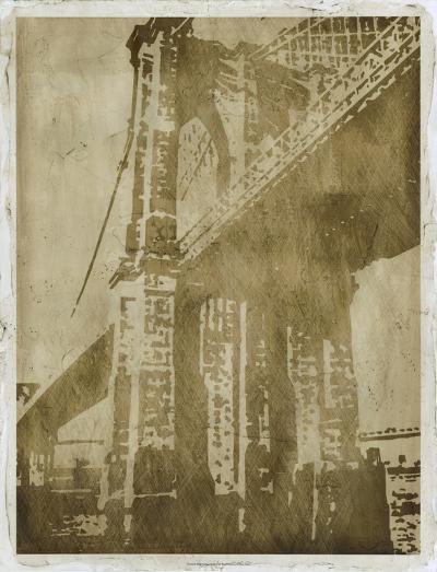 Bridge Etching I-Ethan Harper-Art Print