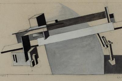 Bridge I-El Lissitzky-Giclee Print