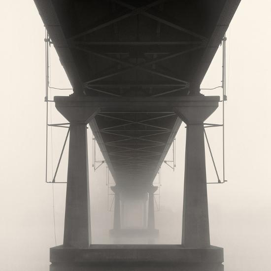 Bridge in Fog-Nicholas Bell-Photo