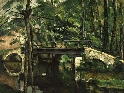 Bridge in Maincy, c.1879-Paul C?zanne-Giclee Print