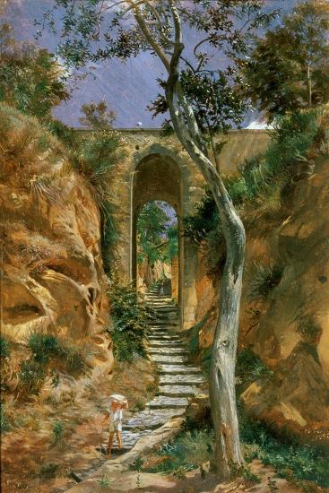 Bridge in Vico, 1858-Nikolai Gay-Giclee Print