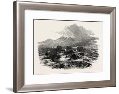 Bridge Near Capel Curig, North Wales, Uk, 19th Century--Framed Giclee Print