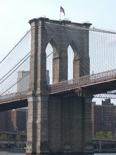 Bridge, New York City-Keith Levit-Photographic Print