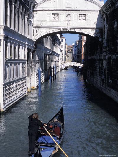 Bridge of Sighs, Venice, Veneto, Italy-Guy Thouvenin-Photographic Print