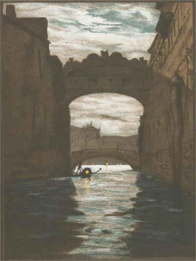 Bridge of Sighs, Venice--Art Print