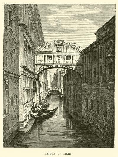Bridge of Sighs--Giclee Print