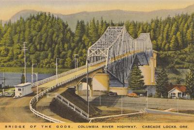 Bridge of the Gods, Cascade Locks--Art Print